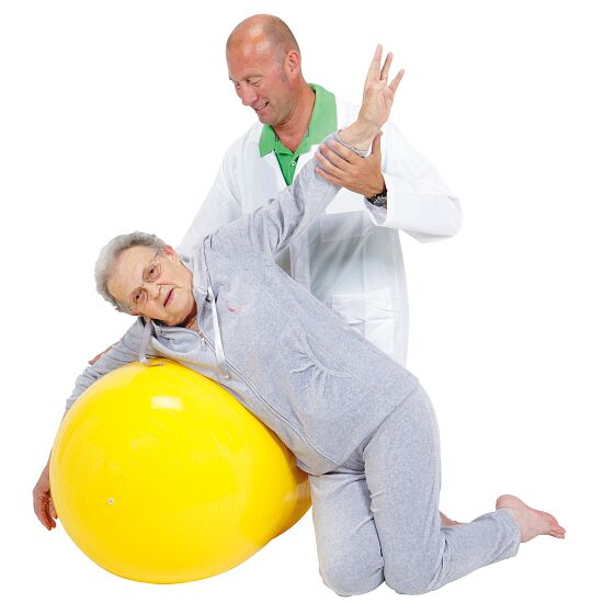 Physio-Roll Gymnic® ø 55 cm, jaune, L: 90 cm