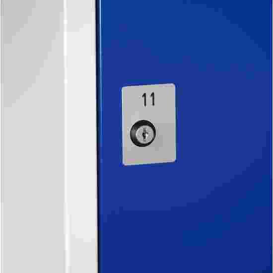 Plaque numérotée pour serrure à cylindre