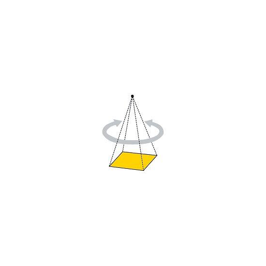 Platformschommel 75x75 cm