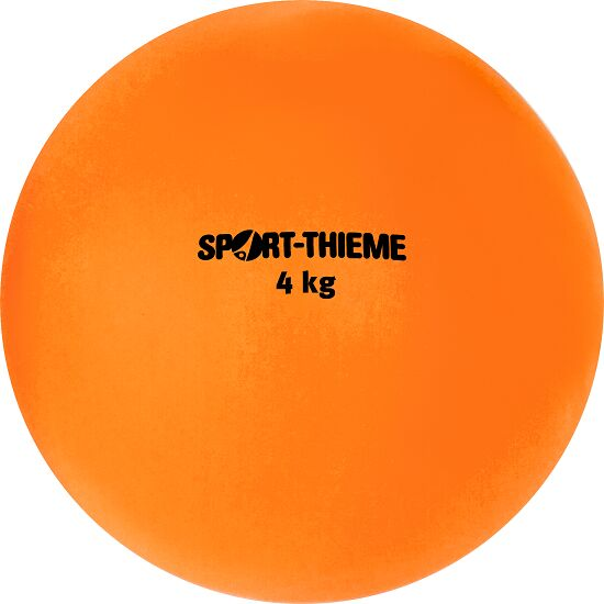 Poids en plastique Sport-Thieme® 4 kg, orange, ø 134 mm