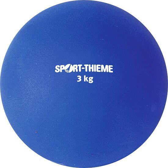 Poids Sport-Thieme en plastique 3 kg, bleu, ø 121 mm