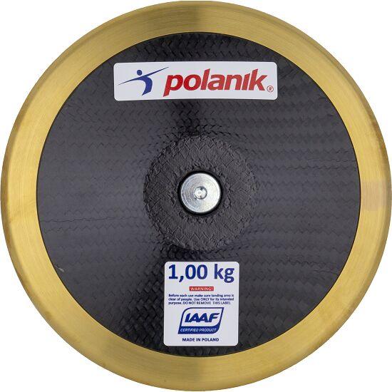 "Polanik Wedstrijd-Discus  ""CCD14 Carbon"" 0,75 kg, ø 167 mm"