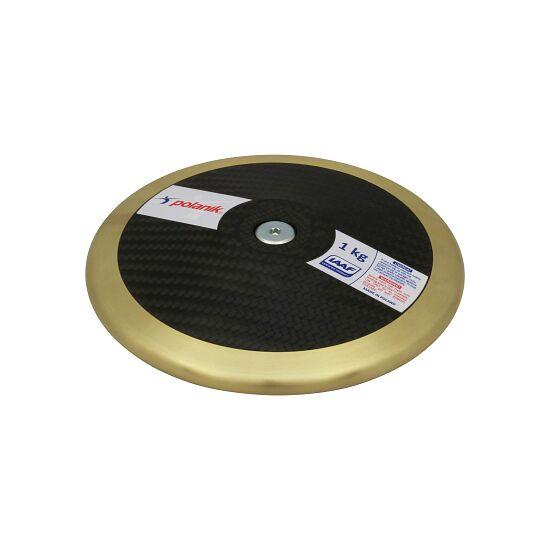 "Polanik Wedstrijd-Discus  ""CCD14 Carbon"" 1,75 kg, ø 211 mm"