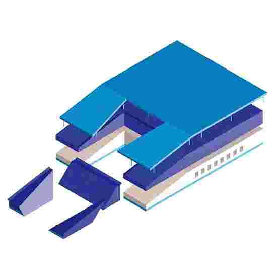 "Polsstokspringmat type ""Super"" 530x400x80 cm"