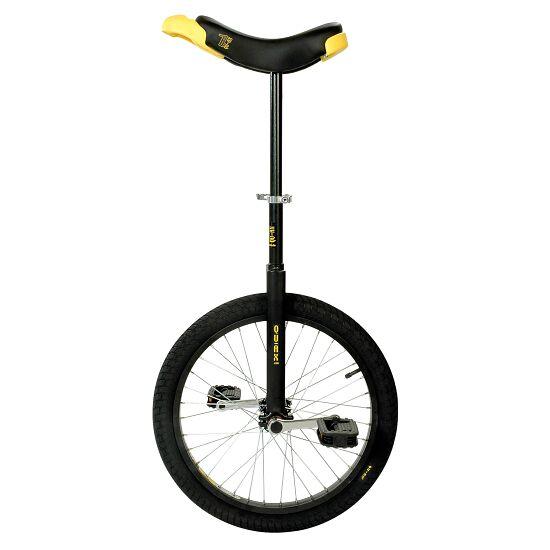 """Qu-Ax® outdoor éénwieler """"Luxus"""" 24 inch wiel (ø 61 cm), zwart kader"""