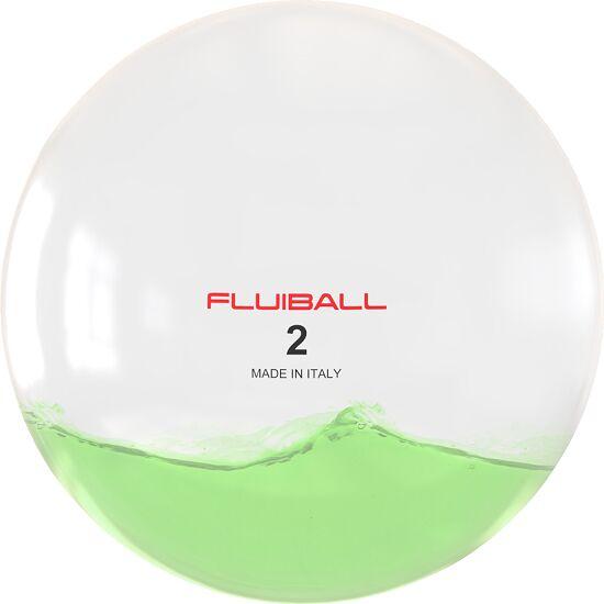 Reaxing Fluiball 2 kg, Groen, ø 26 cm