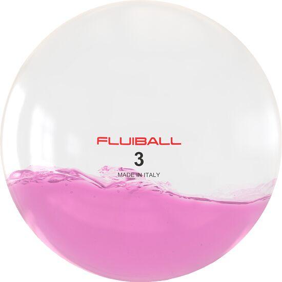Reaxing Fluiball 3 kg, Pink, ø 26 cm