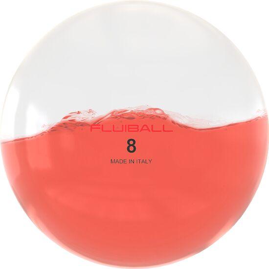 Reaxing Fluiball 8 kg, Rood, ø 30 cm