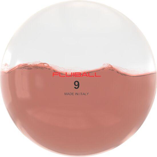Reaxing Fluiball 9 kg, Donkerrood, ø 30 cm