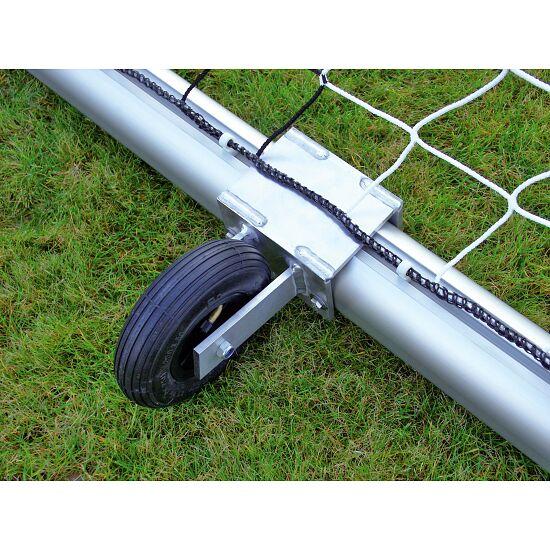 Roulettes de transport pour buts autostables Profilé ovale 100x120 mm, Rainure de profil classique