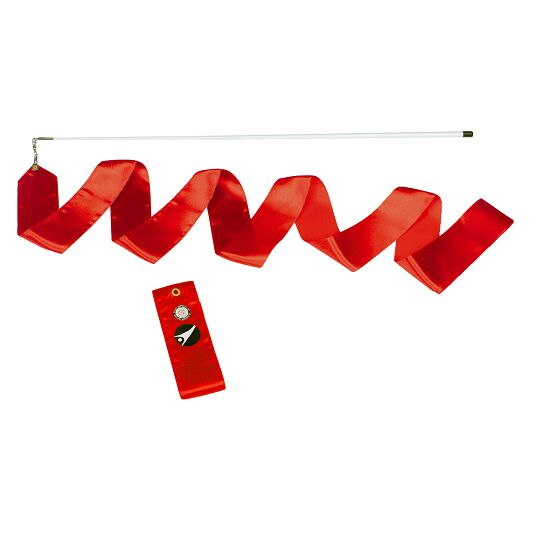 Ruban de compétition Sport-Thieme® Compétition, 6 m de long, Rouge