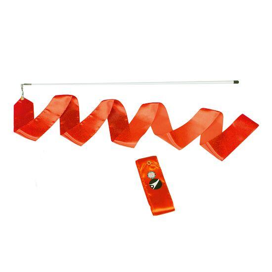 Ruban de gymnastique Sport-Thieme avec baguette « Entraînement» Orange