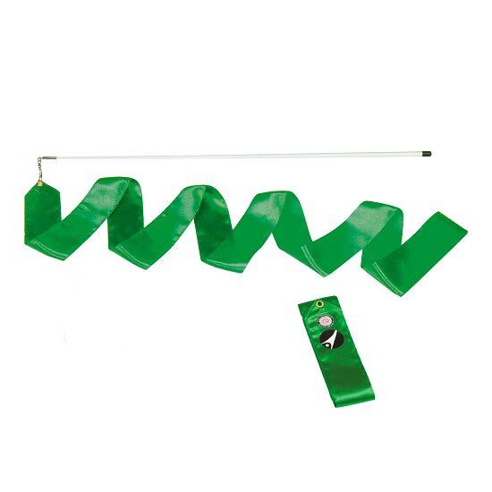 Ruban de gymnastique Sport-Thieme avec baguette « Entraînement» Vert