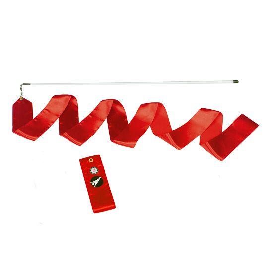 Ruban de gymnastique Sport-Thieme avec baguette « Entraînement» Rouge