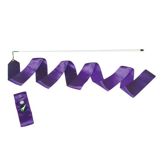 Ruban de gymnastique Sport-Thieme avec baguette « Entraînement» Violet
