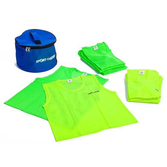 Set Team-Hesjes Kids, geel/groen