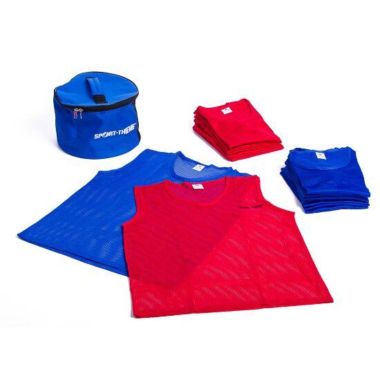 Set Team-Hesjes Jeugd, rood/blauw