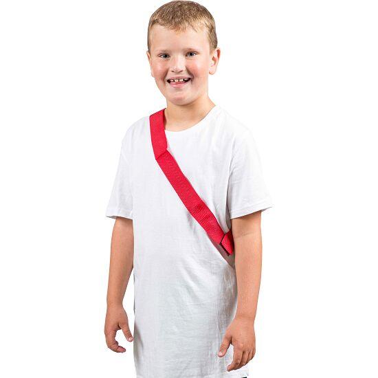 Sport-Thieme Écharpe de marquage Enfant , L: 55 (110) cm, Rouge