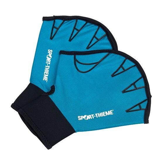 Sport-Thieme® Aqua-Fitness-Handschoenen, open S, turkoois