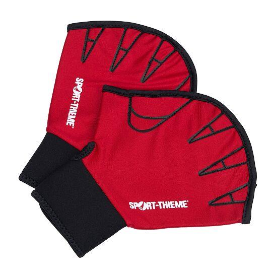 Sport-Thieme® Aqua-Fitness-Handschoenen, open M, rood
