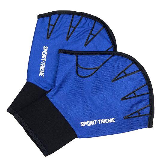 Sport-Thieme® Aqua-Fitness-Handschoenen, open L, blauw