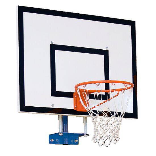 Sport-Thieme basketbal-muurconstructie vaste uitvoering Met hoogteverstelling