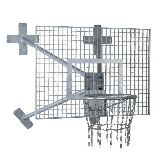 """Sport-Thieme® Basketbal Muurinstallatie """"Outdoor"""" Ring """"Outdoor"""", Doelbord: rooster"""