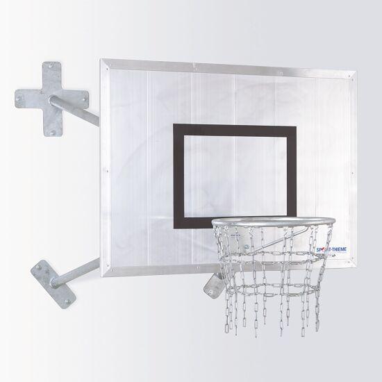 "Sport-Thieme® Basketbal Muurinstallatie ""Outdoor"" Ring ""Outdoor"", Doelbord: aluminium"