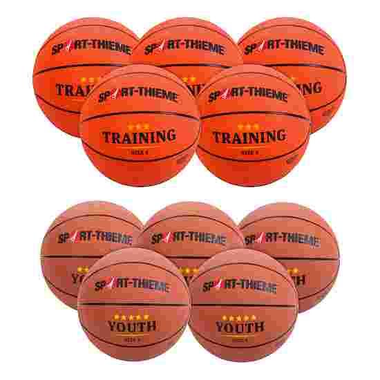 "Sport-Thieme Basketbal-Set ""Jeugd"" Junioren (Maat 5)"