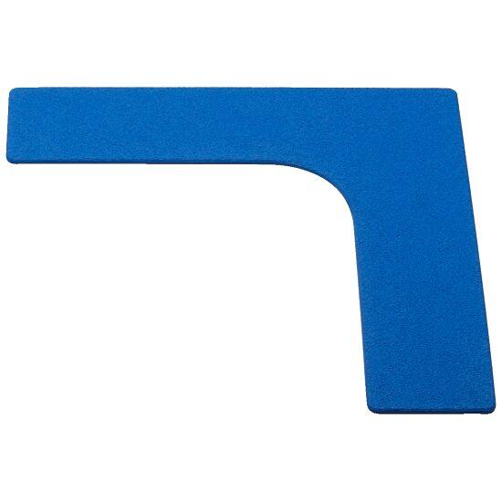 Sport-Thieme Bodemmarkering Hoek, 26 cm, Blauw