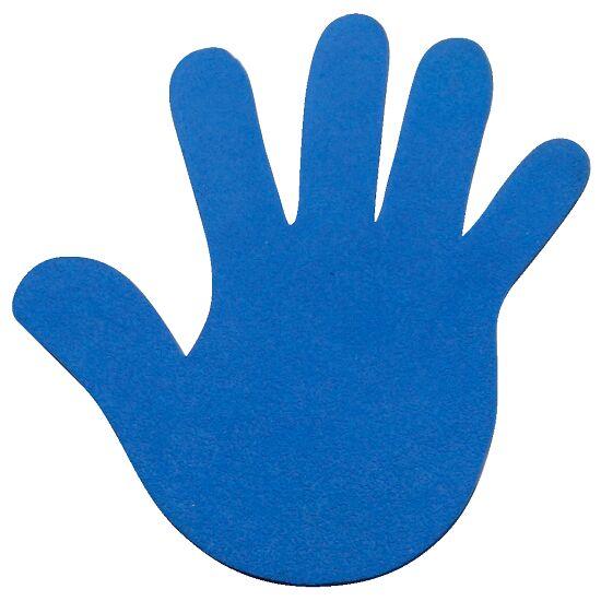 Sport-Thieme Bodemmarkering Hand, 18 cm, Blauw