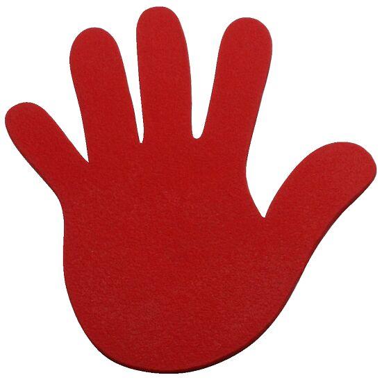 Sport-Thieme Bodemmarkering Hand, 18 cm, Rood