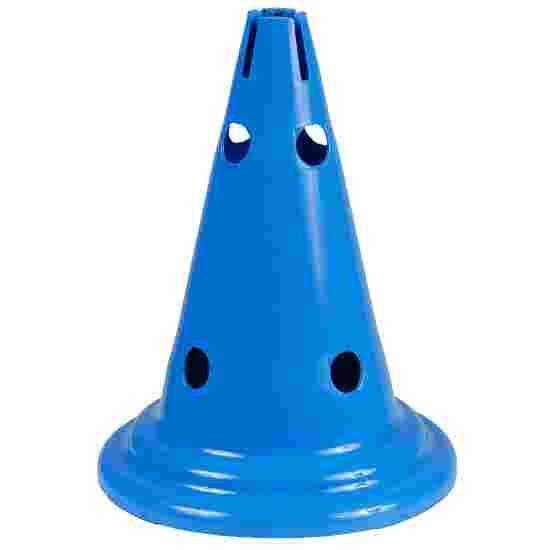 Sport-Thieme Cône multifonction Bleu, 30 cm, 8 trous
