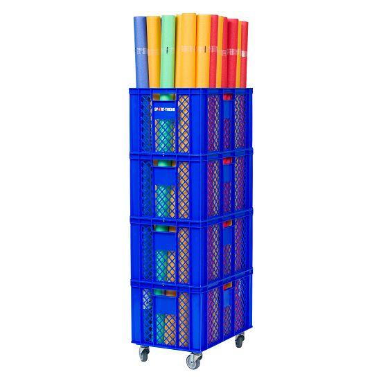 Sport-Thieme Chariot de rangement pour nouilles de piscine 60x40x135 cm