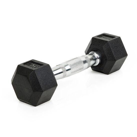 Sport-Thieme® Compacte Halter Rubber Hex 2 kg