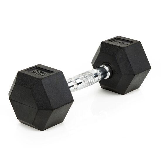 Sport-Thieme® Compacte Halter Rubber Hex 5 kg