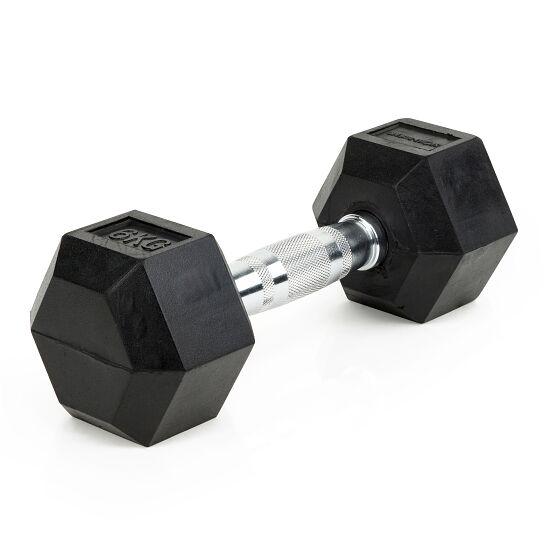 Sport-Thieme® Compacte Halter Rubber Hex 6 kg