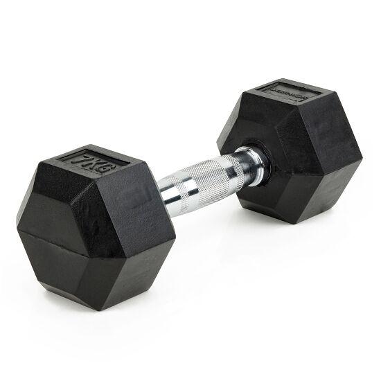 Sport-Thieme® Compacte Halter Rubber Hex 7 kg