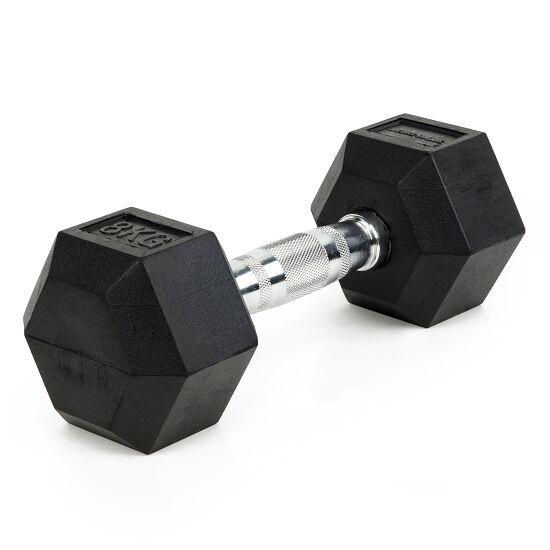 Sport-Thieme® Compacte Halter Rubber Hex 8 kg