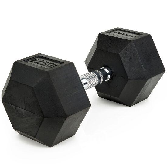 Sport-Thieme® Compacte Halter Rubber Hex 27,5 kg