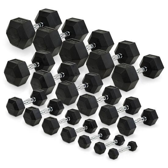 Sport-Thieme® Compacte Halter Rubber Hex 30 kg