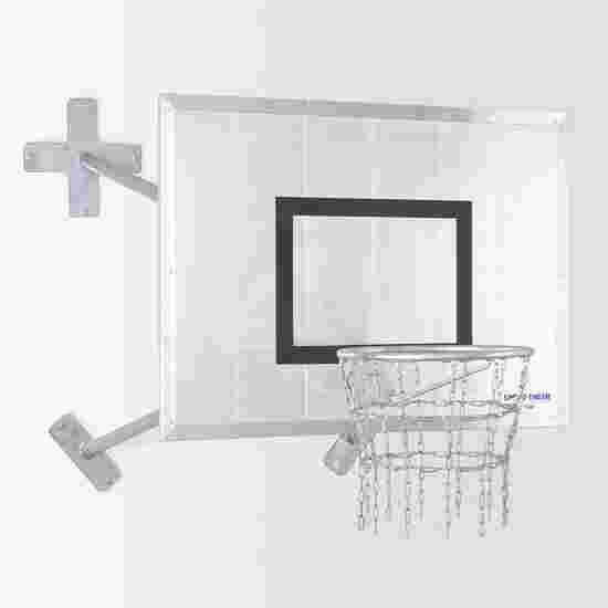 "Sport-Thieme Fair Play Basketbal Muurinstallatie ""Outdoor"" Ring ""Outdoor"", Doelbord: aluminium"