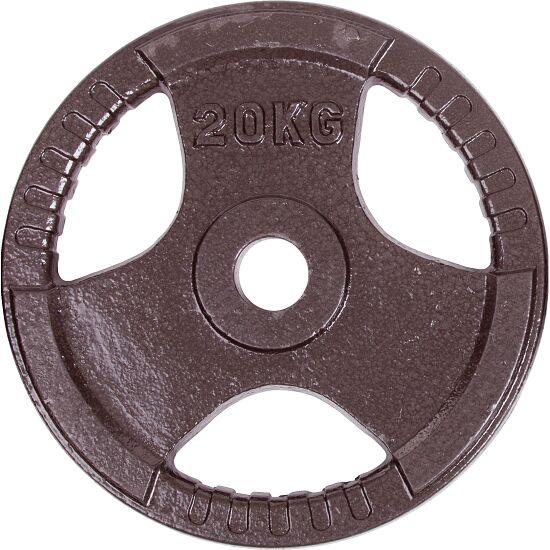 Sport-Thieme® Gietijzeren Wedstrijdhalterschijven 20 kg