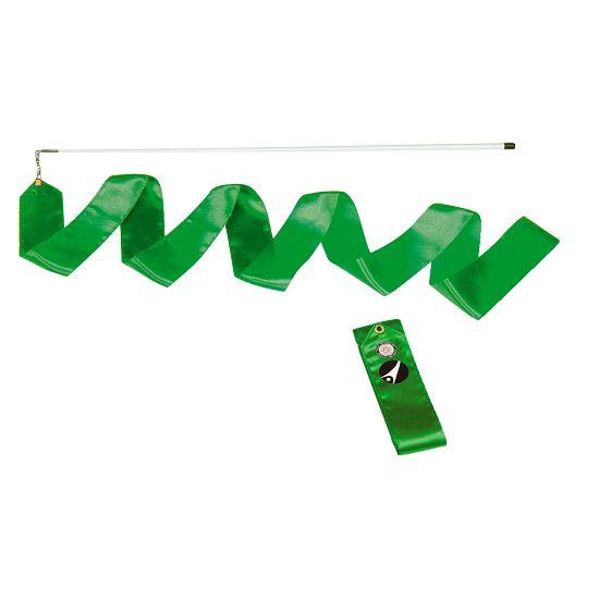 Sport-Thieme® Gymnastiek-wedstrijdlint met staaf Wedstrijd, lengte 6 m, Groen