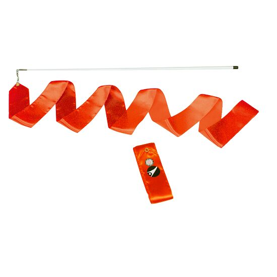 Sport-Thieme Gymnastieklinten Wedstrijd, lengte 6 m, Oranje
