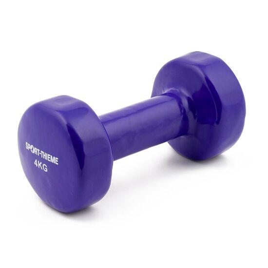 Sport-Thieme Haltère court en vinyle 4 kg, violet