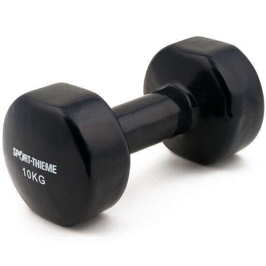 Sport-Thieme Haltère court en vinyle 10 kg, noir