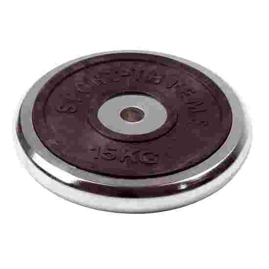 Sport-Thieme Halterschijf van chroom 15 kg