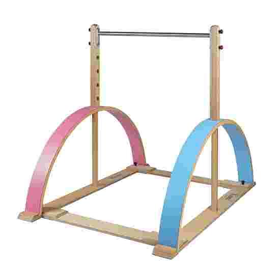 "Sport-Thieme Kinderbar ""Kirec"" Roze-blauw, Zonder valmatten"