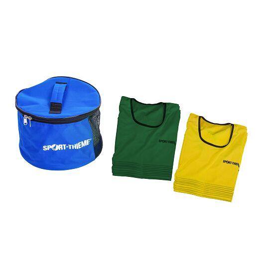 Sport-Thieme Kit de chasubles « Stretch Premium » Enfants, jaune/vert